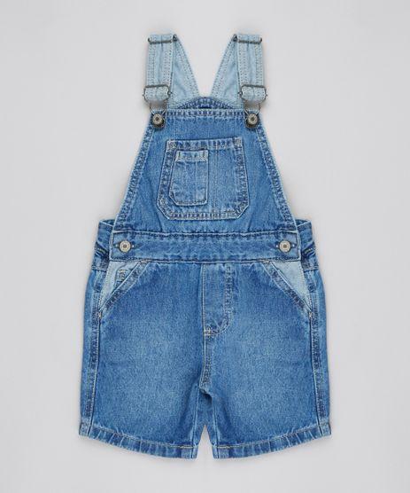 Jardineira-Jeans-Infantil-Com-Bolsos-Azul-Claro-9527106-Azul_Claro_1