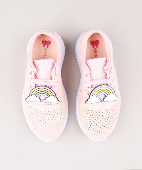 Tenis-Infantil-Running-Esportivo-com-Arco-Iris-Rose-9359290-Rose_1