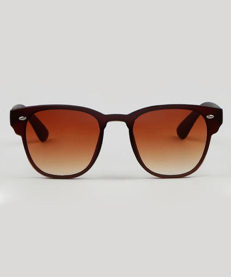 Oculos-de-Sol-Quadrado-Unissex-Marrom-9587971-Marrom_1