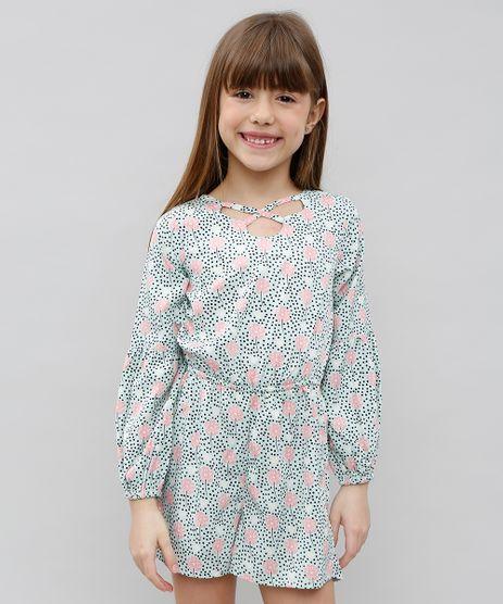 Macaquinho-Infantil-Estampado-Floral-Manga-Longa-Verde-9371292-Verde_1