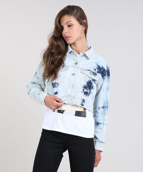 Jaqueta-Jeans-Feminina-com-Bolsos-Destroyed-Azul-Claro-9586461-Azul_Claro_1