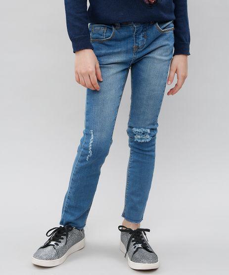 Calca-Jeans-Infantil-com-Rasgos-Azul-Medio-9541164-Azul_Medio_1