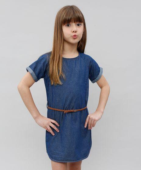 Macaquinho-Jeans-Feminino-Manga-Curta-Decote-Redondo-Azul-Medio-9554916-Azul_Medio_1