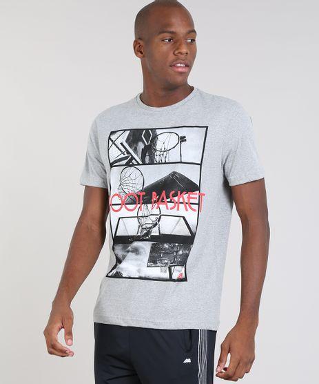 Camiseta-Masculina-Esportiva-Ace--Root-Basket--Manga-Curta-Gola-Careca-Cinza-Mescla-Claro-9447140-Cinza_Mescla_Claro_1