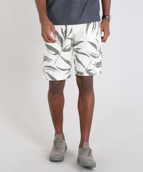 Bermuda-Masculina-Slim-Estampada-de-Folhagem-com-Linho-Off-White-9538938-Off_White_1