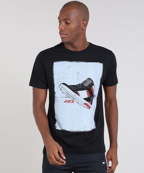 Camiseta-Masculina-Esportiva-Ace-com-Estampa-de-Tenis-Manga-Curta-Gola-Careca-Preto-9412024-Preto_1