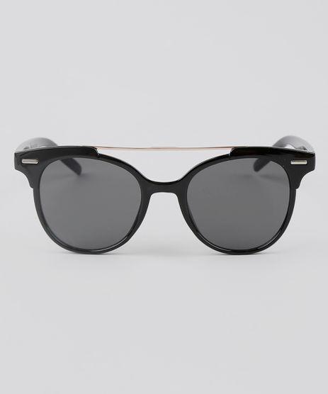 Oculos-de-Sol-Redondo-Unissex-Oneself-Preto-9592700-Preto_1