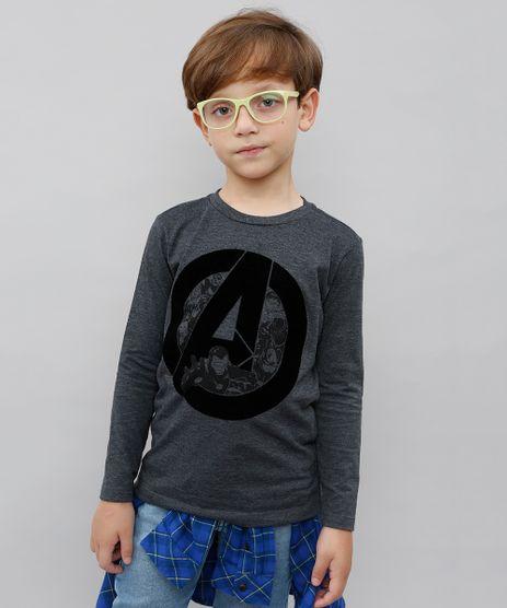Camiseta-Infantil-Os-Vingadores-Manga-Longa-Cinza-Mescla-Escuro-9538017-Cinza_Mescla_Escuro_1