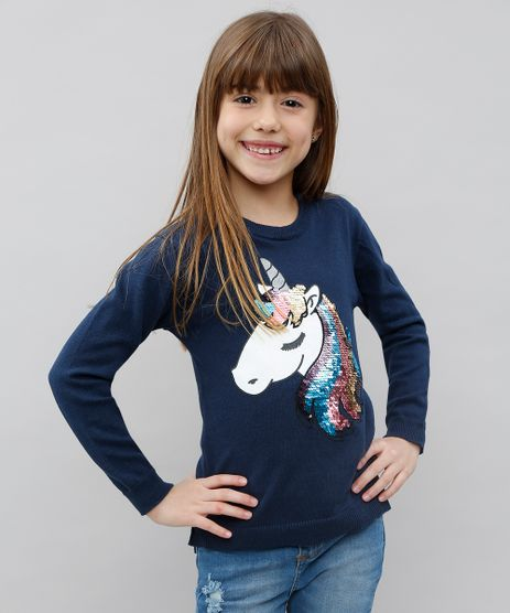 Sueter-Infantil-em-Trico-com-Paetes-Azul-Marinho-9434393-Azul_Marinho_1