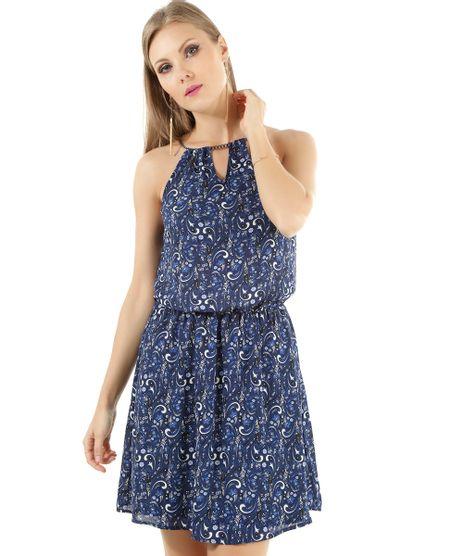 Vestido-Estampado-com-Corrente-Azul-Marinho-8457531-Azul_Marinho_1