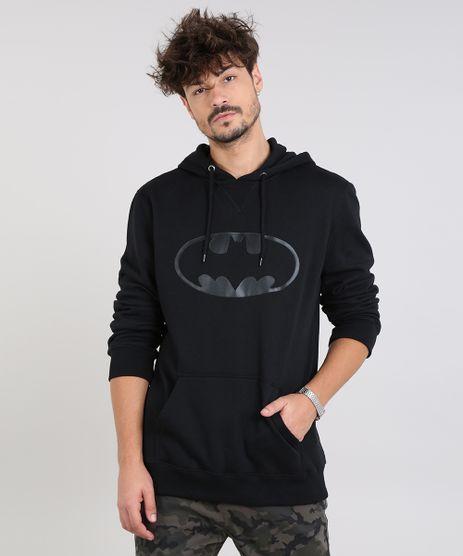 Blusao-Masculino-Batman-com-Capuz-e-Bolso-em-Moletom-Preto-9340185-Preto_1