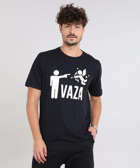 Camiseta-Masculina--Vaza--Manga-Curta-Gola-Careca-Preta-9585236-Preto_1