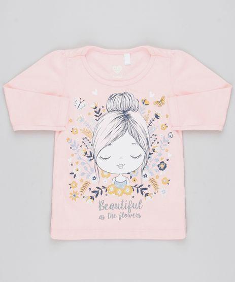 Blusa-Infantil--The-Flowers--Manga-Longa-Decote-Redondo-Rosa-Claro-9556473-Rosa_Claro_1