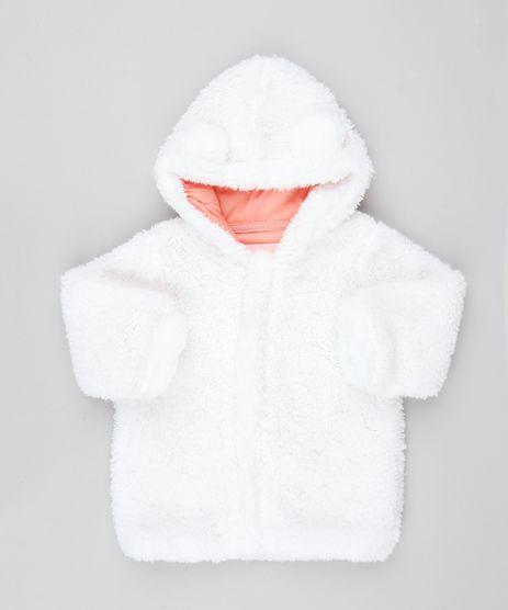 Casaco-Infantil-em-Pelo-com-Capuz-e-Orelhinhas-Off-White-9450979-Off_White_1
