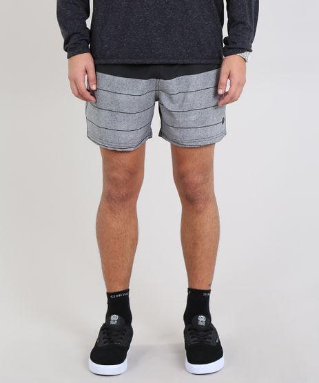 Short-Masculino-Estampado-com-Bolso-Preto-9525320-Preto_1