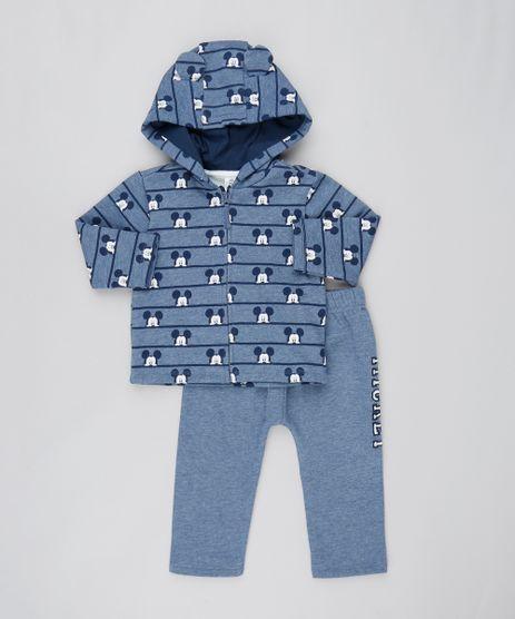 Conjunto-Infantil-Mickey-de-Blusao---Calca-em-Moletom-Azul-Marinho-9457031-Azul_Marinho_1