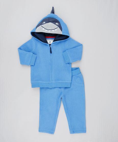 Conjunto-Infantil-Tubarao-de-Blusao-com-Capuz---Calca-em-Fleece-Azul-9444003-Azul_1