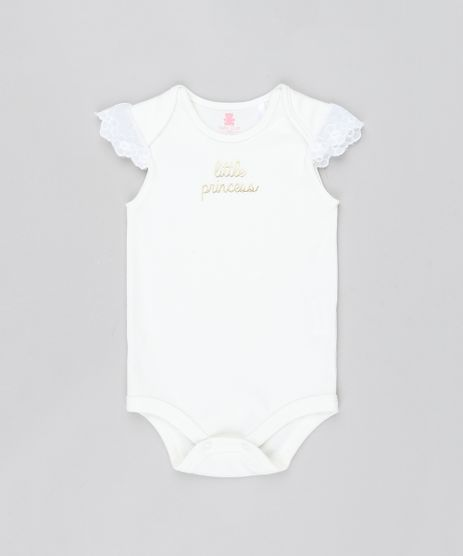 Body-Infantil--Little-Princess--com-Glitter-Sem-Manga-Decote-Redondo--Off-White-9577615-Off_White_1