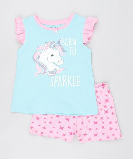 Pijama-Infantil-Unicornio-com-Babado-Regata-Azul-Claro-9527869-Azul_Claro_1