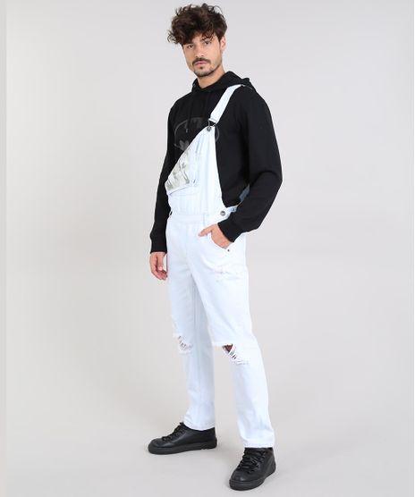 Macacao-Jeans-Masculino-Slim-com-Rasgos-Azul-Claro-9562985-Azul_Claro_1