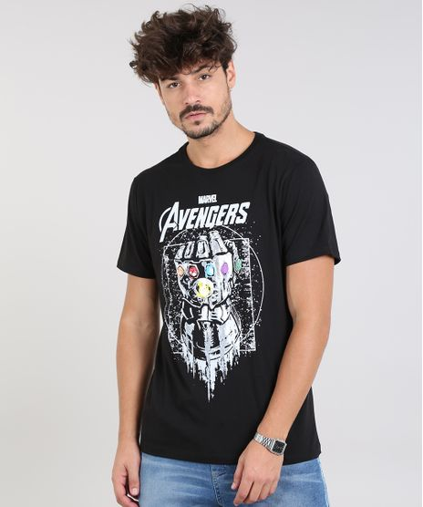 Camiseta-Masculina-Os-Vingadores-Manga-Curta-Gola-Careca-Preta-9531803-Preto_1