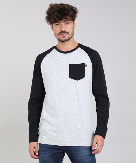 Camiseta-Masculina-Raglan-Botone-com-Bolso-Manga-Longa-Gola-Careca-Cinza-Mescla-Claro-9533561-Cinza_Mescla_Claro_1