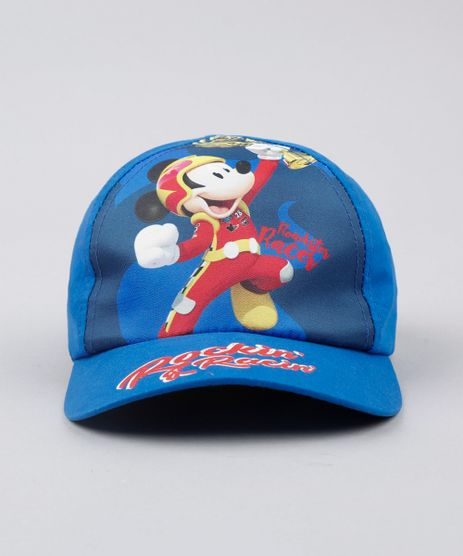 Bone-Infantil-Aba-Curva-Mickey--Azul-9542366-Azul_1