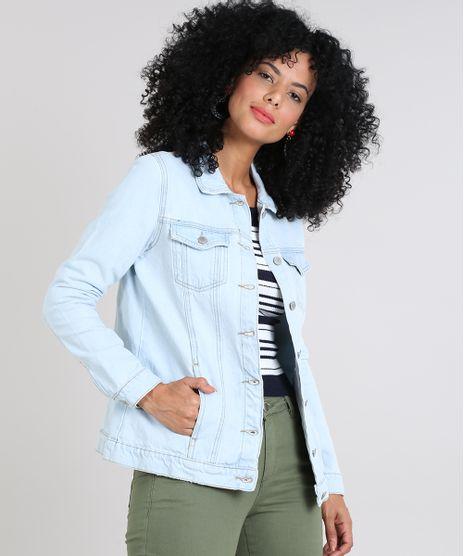 Jaqueta-Jeans-Feminina-com-Bolsos-Azul-Claro-9589536-Azul_Claro_1