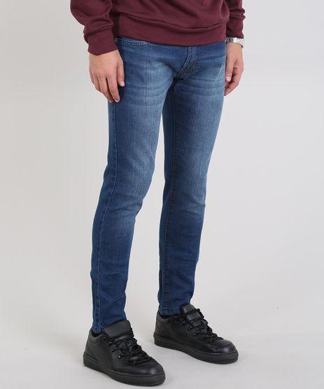 de22e10b3e Calca-Jeans-Masculina-Skinny-Azul-Escuro-9586401-Azul Escuro 1
