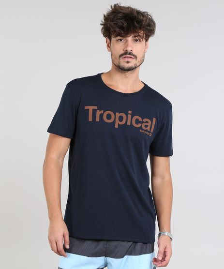 Camiseta-Masculina--Tropical--Manga-Curta-Gola-Careca-Azul-Marinho-9311583-Azul_Marinho_1
