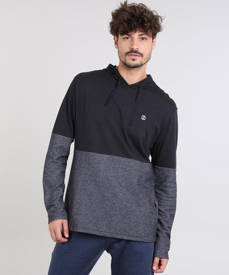 Camiseta-Masculina-com-Capuz-Manga-Longa-Preta-9585275-Preto_1