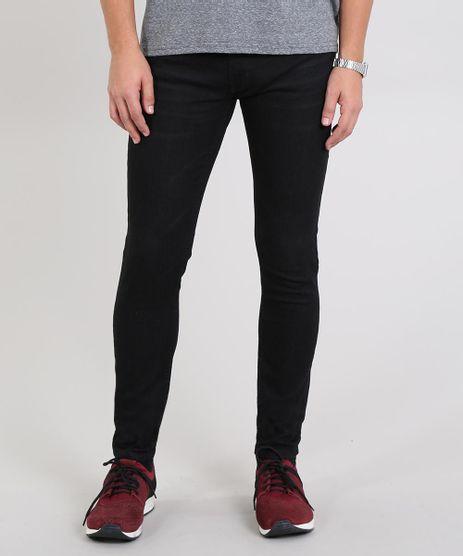 Calca-Jeans-Masculina-Skinny-Preta-9586402-Preto_1