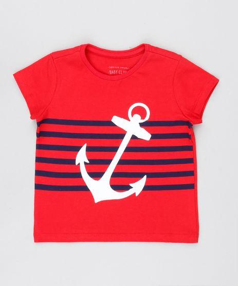 Camiseta-Infantil-Ancora-Manga-Curta-Gola-Careca-Vermelho-8631376-Vermelho_1