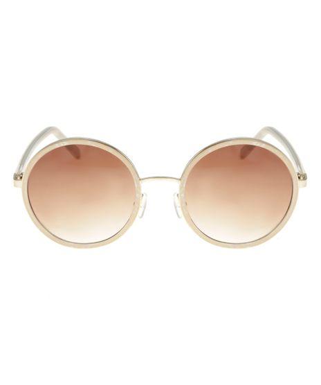 Oculos-Redondo-Feminino-Oneself-BEGE-8553366-Bege_1