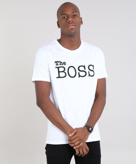 Camiseta-Masculina--The-Boss--Manga-Curta-Gola-Careca-Off-White-9607961-Off_White_1