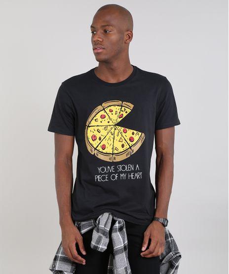 a6b248d5e1 Camiseta-Masculina-com-Estampa-de-Pizza-Manga-Curta-