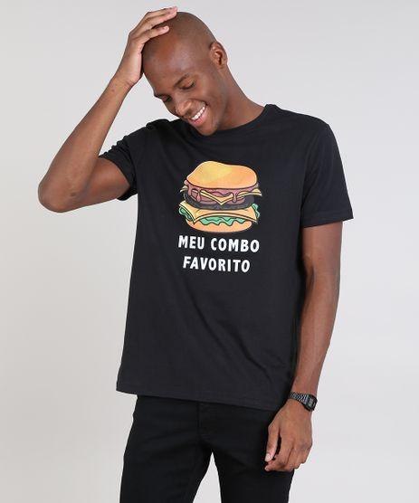 Camiseta-Masculina--Meu-Combo-Favorito--Manga-Curta-Gola-Careca-Preta-9607964-Preto_1