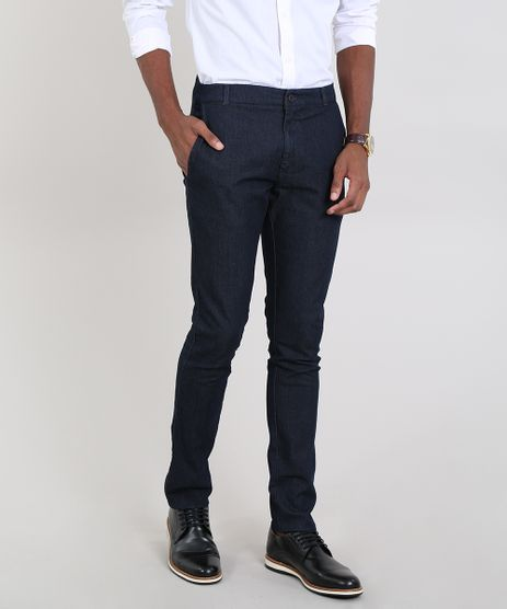 Calca-Jeans-Masculina-Slim-Chino-Azul-Escuro-9563735-Azul_Escuro_1