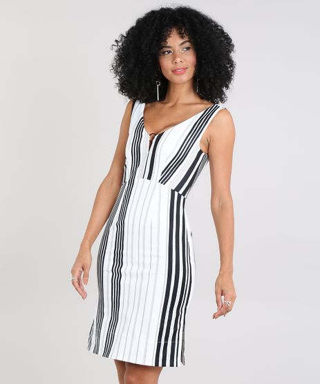 Vestido-Feminino-Listrado-com-Decote-V-e-Argola-Off-White-9439409-Off_White_1