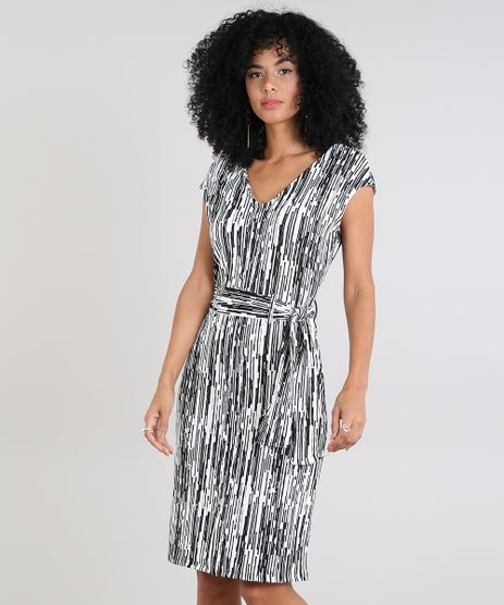 Vestido-Feminino-Estampado-Geometrico-com-Faixa-de-Amarrar-Off-White-9571959-Off_White_1