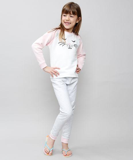 Pijama-Infantil-Gatinha-Raglan-em-Moletom-Manga-Longa-Off-White-9527875-Off_White_1