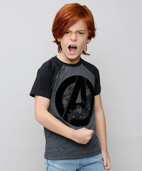 Camiseta-Infantil-Os-Vingadores-Raglan-Manga-Curta-Cinza-Mescla-Escuro-9537980-Cinza_Mescla_Escuro_1