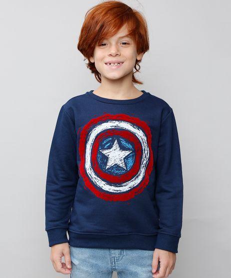 Blusao-Infantil-Capitao-America-em-Moletom-Azul-Marinho-9567791-Azul_Marinho_1
