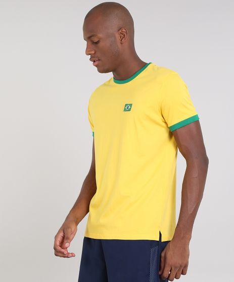 Camiseta-Masculina-Esportiva-Ace-Brasil-Manga-Curta-Gola-Careca-Amarela-9552327-Amarelo_1