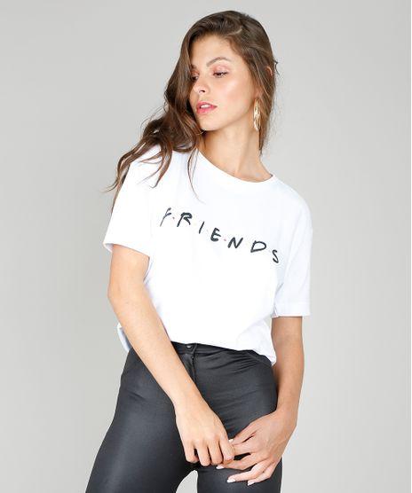 Blusa-Feminina-Friends-Manga-Curta-Barra-Dobrada-Branca-9573345-Branco_1