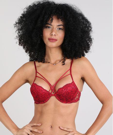 Sutia-Push-Up-em-Renda-Com-Bojo-Vermelho-9513790-Vermelho_1