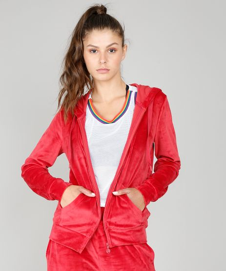Blusao-Feminino-Esportivo-Ace-em-Plush-com-Capuz-Vermelho-9348613-Vermelho_1