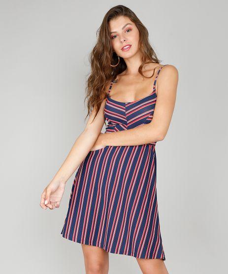 Vestido-Feminino-Curto-Evase-Listrado-Alca-Fina-Azul-Marinho-9569303-Azul_Marinho_1