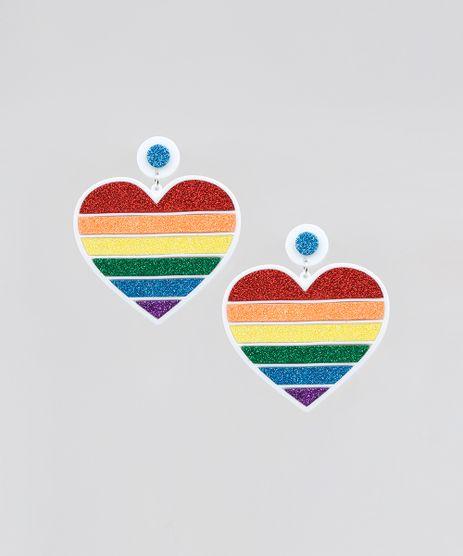 Brinco-Feminino-Pride-Coracao-Arco-Iris-com-Glitter-Branco-9589267-Branco_1