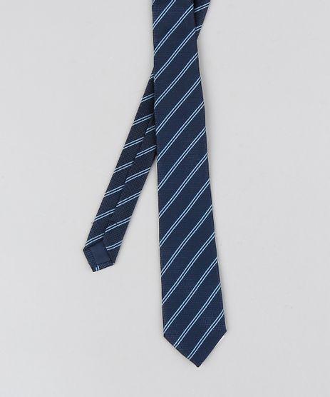 Gravata-Masculina-Listrada-em-Jacquard-Azul-Marinho-8327827-Azul_Marinho_1_1